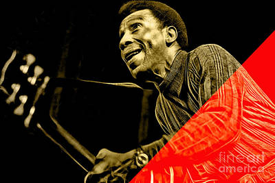 T Bone Walker Collection Art Print