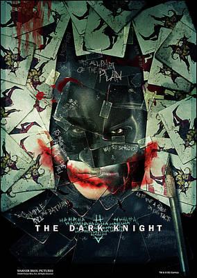 The Dark Knight 2008  Art Print