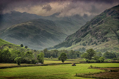 The Lake District  Print by Martin Newman