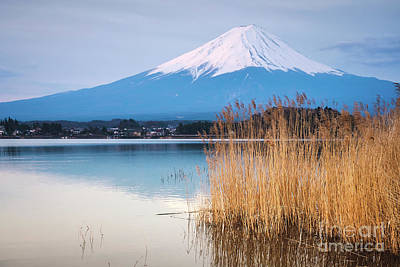 Basketball Patents - The mount Fuji in Japan by Sabino Parente