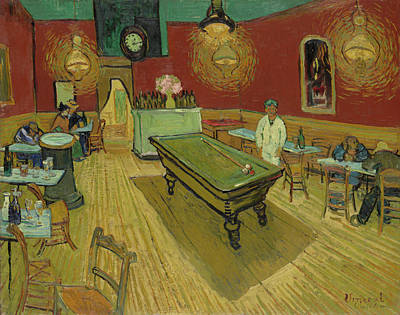 Painting - The Night Cafe by Vincent van Gogh