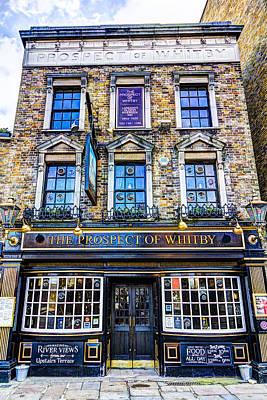 The Prospect Of Whitby Pub London Art Print