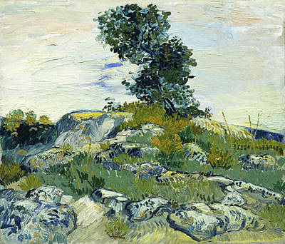 Painting - The Rocks by Vincent van Gogh