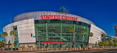The Staples Center Art Print by Mountain Dreams