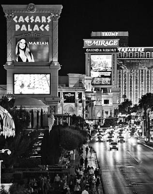 Photograph - The Strip by Ricky Barnard