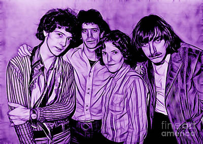 The Velvet Underground Collection Print by Marvin Blaine