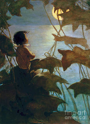 Painting - The Water Babies by Granger