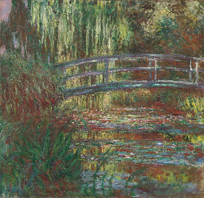 Maritime Painting - The Water Lily Pond by Claude Monet