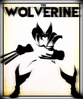 Digital Art - The Wolverine by Kyle West