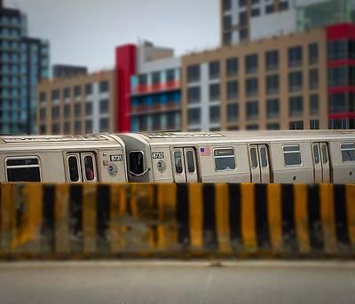 7 Train Photograph - 7 Train V2 by Bri Lou