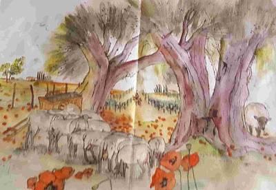 Painting - Trees Trees Trees Album by Debbi Saccomanno Chan