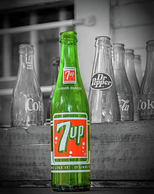 Photograph - 7 Up by Dennis Dugan