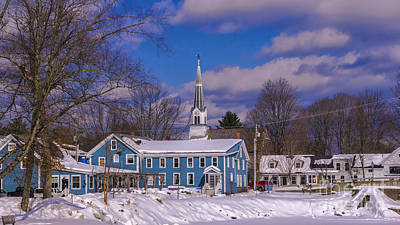 Photograph - Waitsfield Vermont by Scenic Vermont Photography