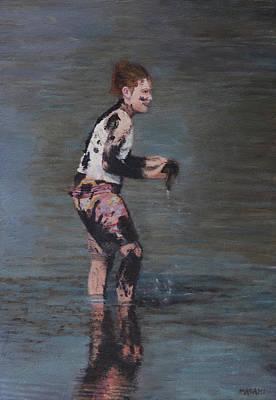 Painting - Water Fun by Masami Iida