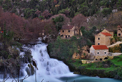 Water Photograph - Waterfall by Ivan Slosar