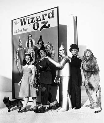 1939 Movies Photograph - Wizard Of Oz, 1939 by Granger