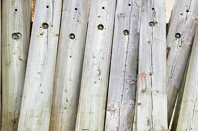 Messy Photograph - Wooden Planks by Tom Gowanlock