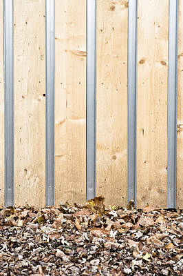Sustainable Design Photograph - Wooden Wall by Tom Gowanlock