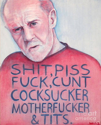 Carlin Painting - 7 Words by Derek Donnelly