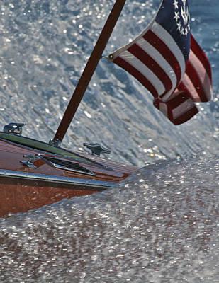 Yacht Ensign Art Print by Steven Lapkin