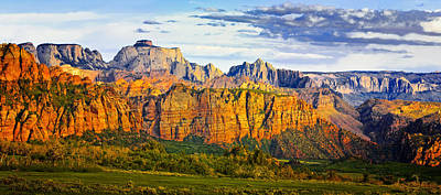 Zion National Park Utah Art Print by Utah Images