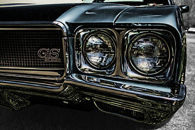 Photograph - '70 Buick Gs by Daniel Adams