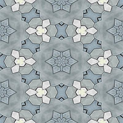 Kaleidoscopic Ornaments Art Print by Miroslav Nemecek
