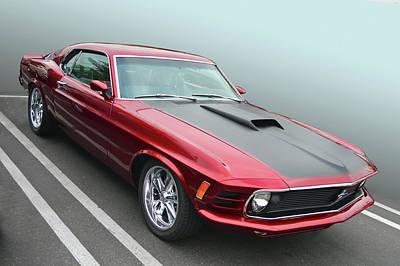 Photograph - 70 Mustang by Bill Dutting