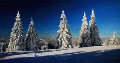 Spring Painting - Nature Art Landscape Canvas Art Paintings Oil by Margaret J Rocha