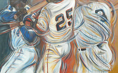 700 Homerun Club Art Print by Redlime Art