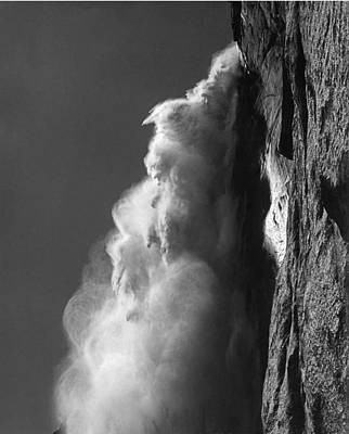 Photograph - 706501 Upper Yosemite Falls From Underneath by Ed Cooper Photography