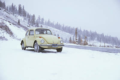 71 Vw Bug Art Print