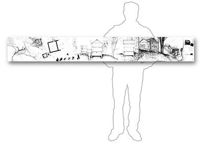 Drawing - 7.12.usa-4-horizontal-with-figure by Charlie Szoradi