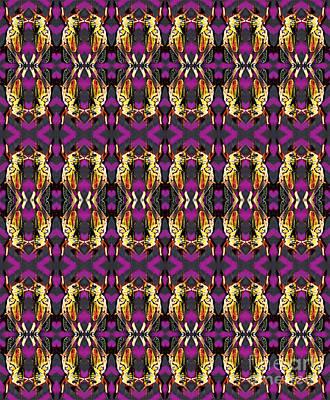 Digital Art - 72 Grasshoppers by Expressionistart studio Priscilla Batzell