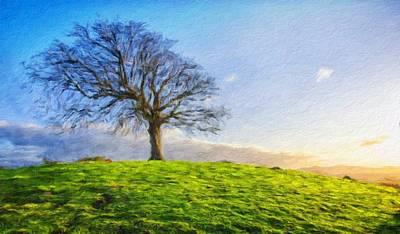 Sea Painting - Nature Landscape Pictures by Margaret J Rocha