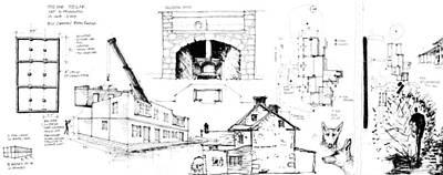 Drawing - 7.28.usa-7-detail-b by Charlie Szoradi