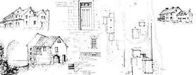 Drawing - 7.29.usa-7-detail-c by Charlie Szoradi