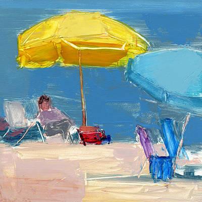 Fun Umbrella Painting - Rcnpaintings.com by Chris N Rohrbach