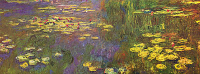 Nympheas Painting - Water Lilies by Claude Monet