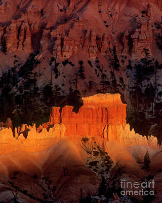 Photograph - 730750092cv Hoodoos Sunset Bryce Canyon National Park Utah by Dave Welling