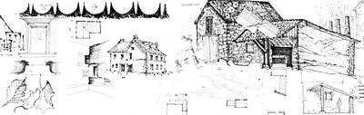 Drawing - 7.33.usa-8-detail-c by Charlie Szoradi