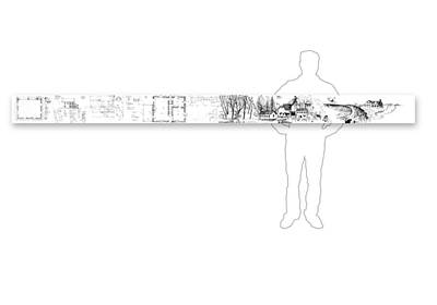 Drawing - 7.35.usa-9-horizontal-with-figure by Charlie Szoradi