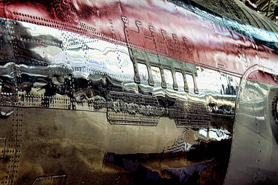 Photograph - 737 Rivets by David Patterson