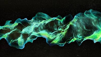 Curve Digital Art - Artistic by Maye Loeser