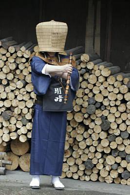 Photograph - Komuso by Masami Iida