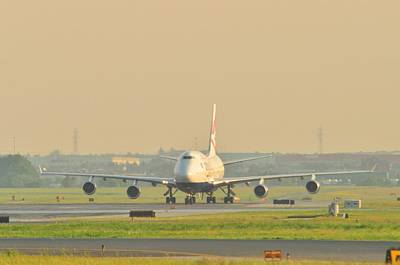 Photograph - 747 British Airways by Puzzles Shum