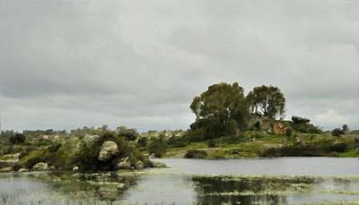 Print Digital Art - Landscape Nature by Victoria Landscapes