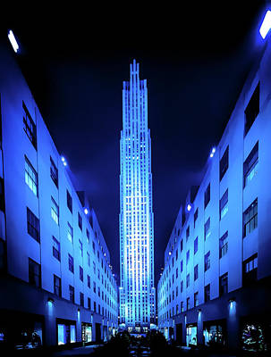 Digital Art - 75 Rockefeller Center by Thomas Logan