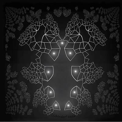 Digital Art - 754 - Design by Irmgard Schoendorf Welch