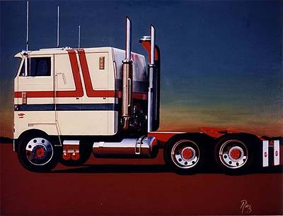 Retro Wall Art - Painting - 76 Pete by Peter Ring Sr